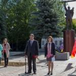 Митинг в п. Воротынец, посвященный памяти погибших в годы Великой Отечественной войны