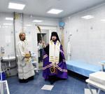 29 августа 2017 г. епископ Силуан освятил детское отделение в Воротынской больнице