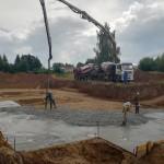 Новости со строительства нового храма в Воротынце